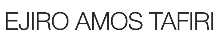 Ejiro Amos Tafiri Logo (Mobile)