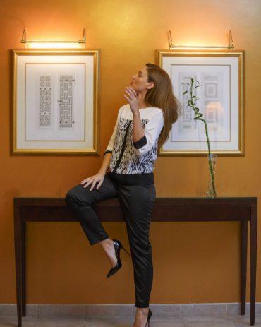Tibi Top + Tibra Pants