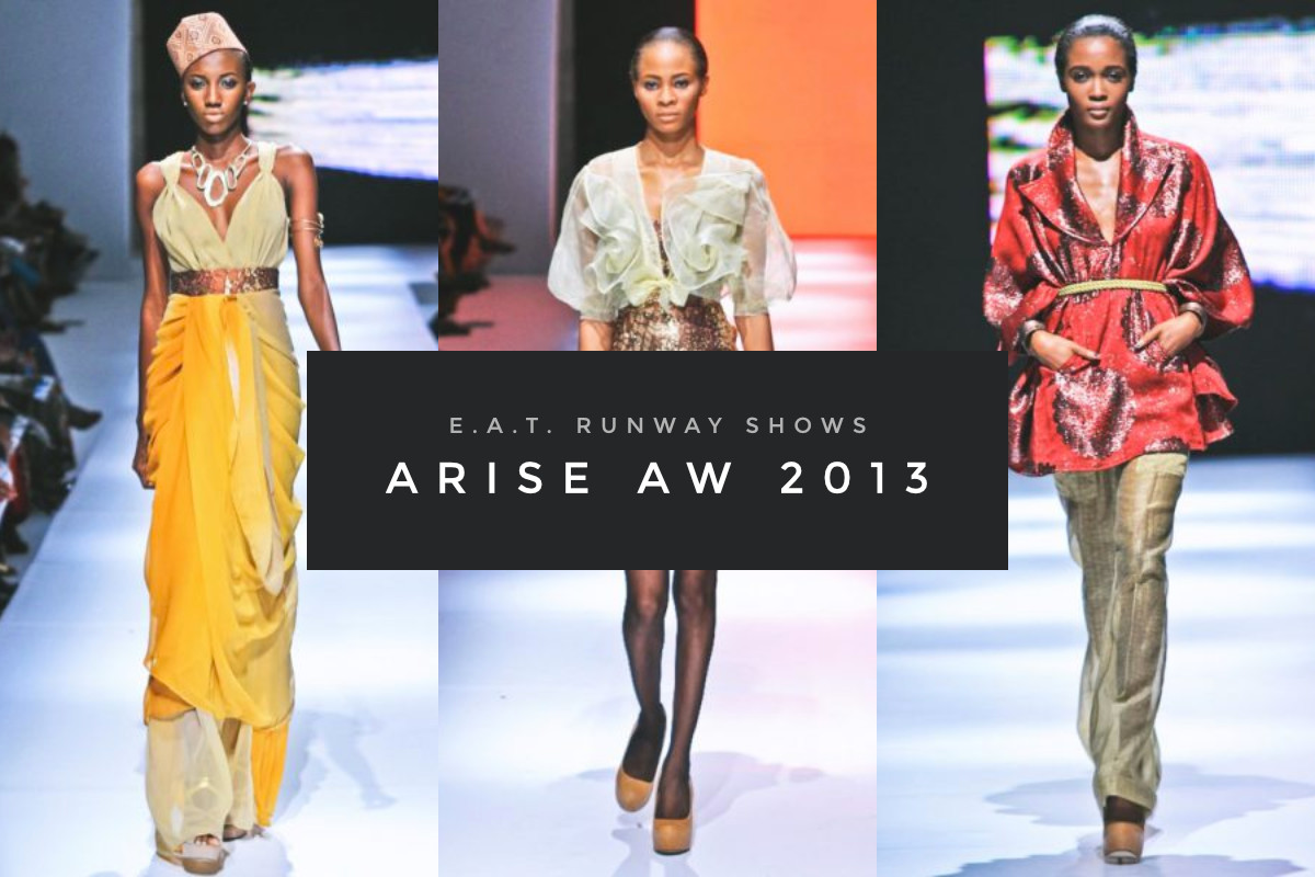 E.A.T. Runway Shows – Arise AW 2015 (Cover)
