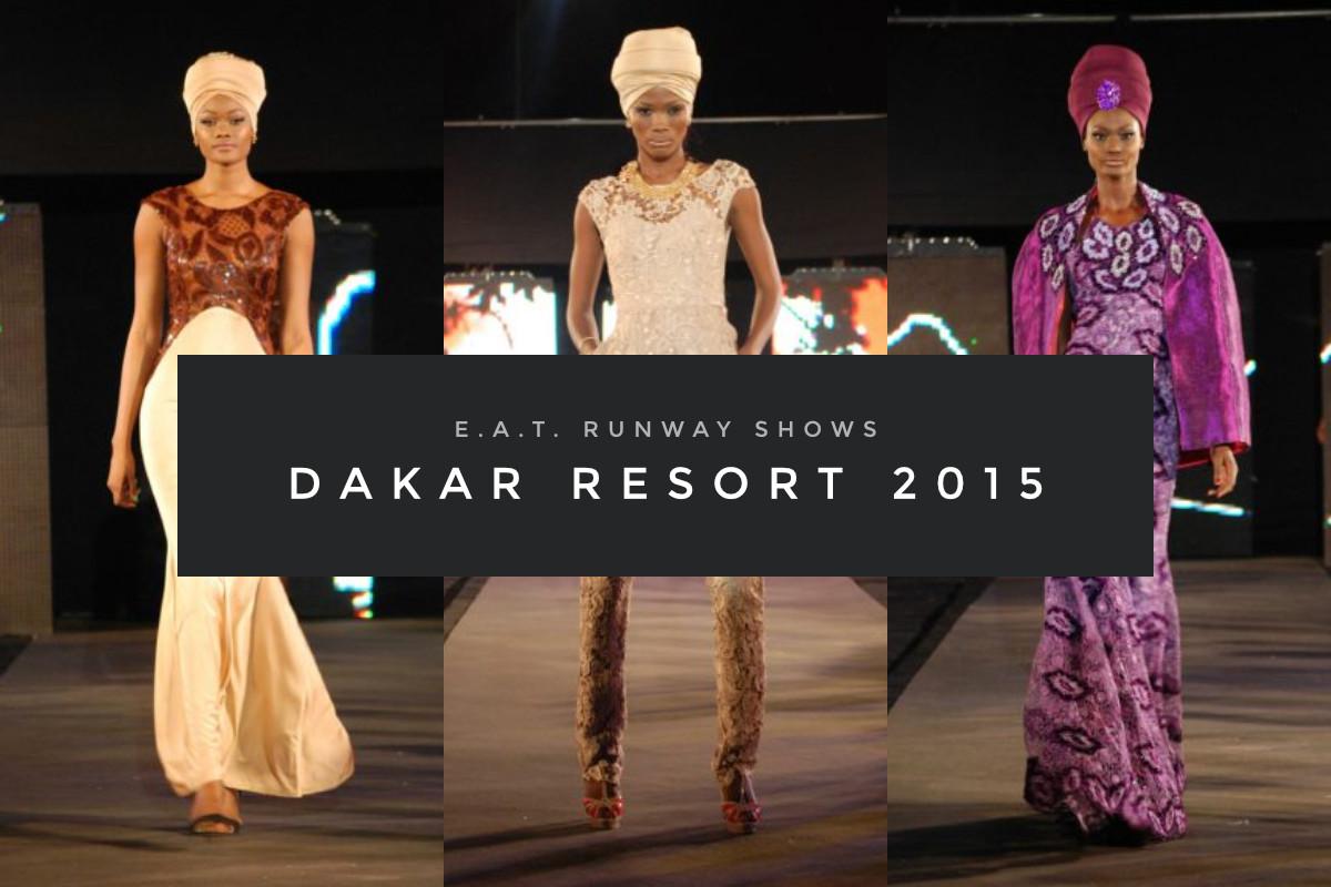 E.A.T. Runway Shows – Dakar Resort 2015 (Cover)