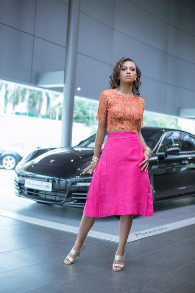Salle Top + Adrinne Skirt