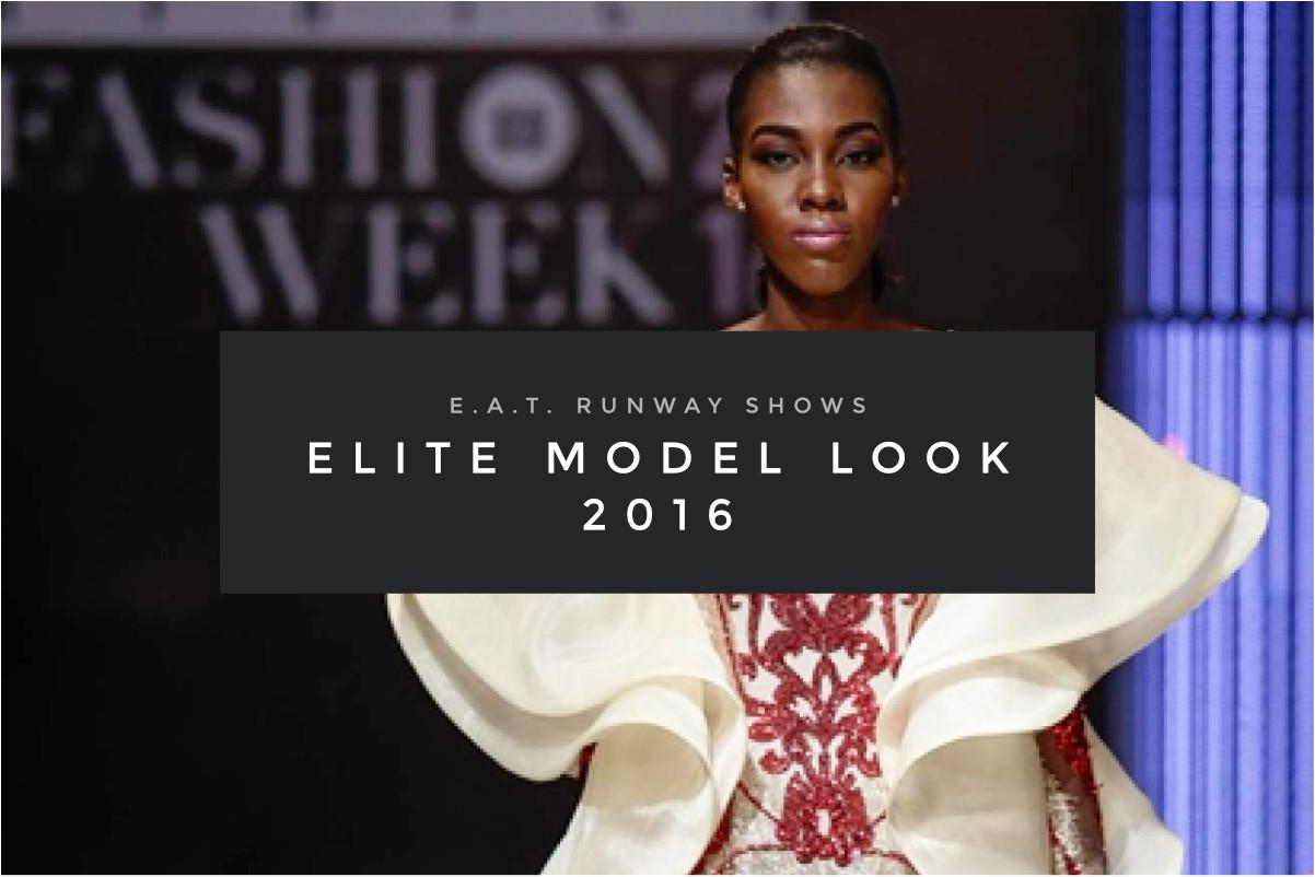 E.A.T. Runway Shows – Elite Model Look 2016